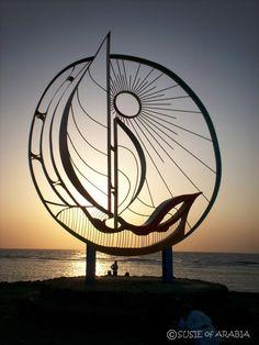 The Sculptures Of Jeddah 1 Slideshow by susieofarabia | Photobucket