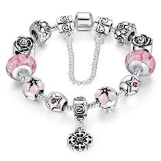 #3: Presentski Fashion Charm Bracelet for Teen Girls and Women with Safe Chain Flower Themed Charms Presentski Fashion Bracelet Flower Themed is rated above 4 stars and stays in the best products in Jewelry  category in Canada. Click below to see its Availability and Price in YOUR country.