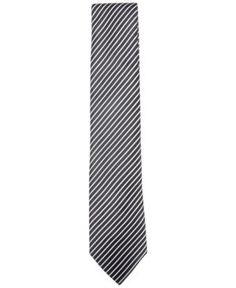 Countess Mara Men's Beekman Stripe Tie - Black