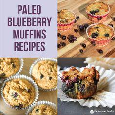 5 Paleo Blueberry Muffins Recipes