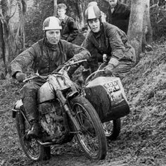 Off Road Motorcycling in the 30's #VintageDirtbike