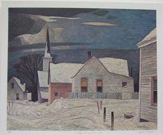 casson-village-in-winter-1950.jpg (700×584)