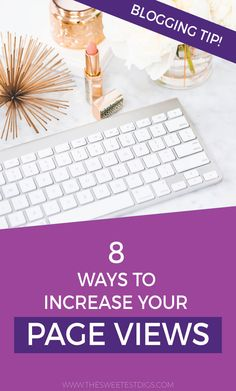 How to Increase Blog Traffic and Pageviews! The tried and true ways I have grown my DIY and home decor blog over the last 5+ years. Full of tips & tricks for bloggers to help grow their blog and make money  blogging. Plus a list of submission websites you can use to submit your posts for features. Click through for the post and free download!