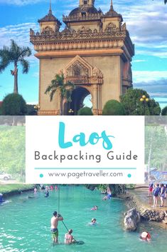 Laos Backpacking Guide-- Tanks that Get Around is an online store offering a selection of funny travel clothes for world explorers. Check out www.tanksthatgetaround.com for funny travel tank tops and more travel destination guides. #Travelguide