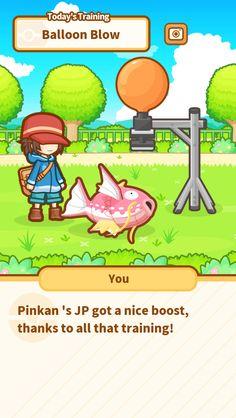 Just keep jumping, Pinkan ! #Magikarp http://koiking.jp/r/