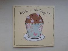 Yummy handmade birthday card