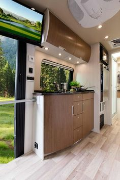 45 Best Sprinter Van Conversion Ideas With Low Budget - Smart Home and Camper Sprinter Van Conversion, Camper Conversion, Kombi Motorhome, Camper Trailers, Rv Campers, Camping Con Glamour, Ducato Camper, Mercedes Vito, Leisure Travel Vans