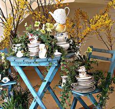Spring Garden Tea Party | Garden tea party.