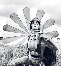 Peacock Parachute - SexyMuse.com