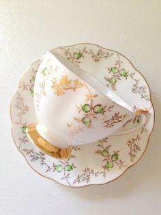 Vintage English Footed Fine Bone China Princess by MariasFarmhouse, $55.00