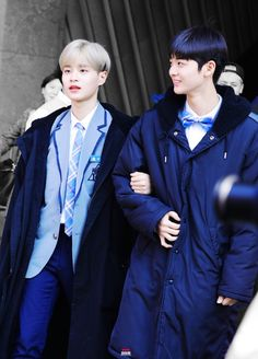 Bae Jin-young and Lee Dae-hwi #produce101season2 #배진영 #이대휘