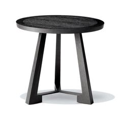 Ralph II Side Table by Philippe Hurel Side Coffee Table, Round Side Table, End Tables, Metal Furniture, Table Furniture, Furniture Design, Table Desk, Dining Table, Circle Table