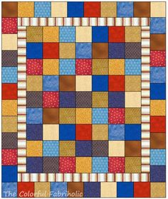 The Colorful Fabriholic: CSQ Charity Quilts