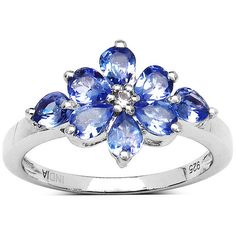 Shop for Olivia Leone Carat Genuine Tanzanite and White Topaz Sterling Silver Ring. Get free delivery On EVERYTHING* Overstock - Your Online Jewelry Destination! Get in rewards with Club O! Cute Jewelry, Jewelry Gifts, Jewelery, Engagement Ring Settings, Diamond Engagement Rings, Magical Jewelry, Sterling Silver Jewelry, Silver Ring, Silver Jewellery