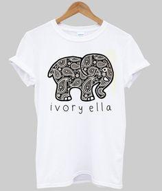 elephant ivory ella shirt  #tshirt #shirt #graphic shirt #funny shirt