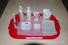 Montessori Care of Self - Manicuring Nails
