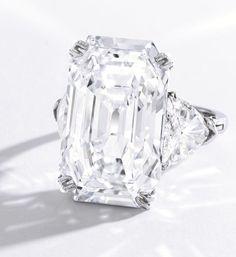 19.51-carat Diamond Ring By Harry Winston • Sotheby's @Hollie Baker B