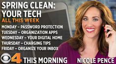 "All this week on CBS4 This Morning, Nicole Pence is ""spring cleaning"" your technology by helping you get the most out of your gadgets and gizmos. She'll cover everything from crea…"