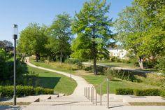 Parc-entrance « Landscape Architecture Works | Landezine