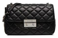 Je vends un petit Marc Jacobs démodé et j'aimerai prendre un sac à chaîne intemporel mais original. Je choisis lequel ?  Sacs à main SLOAN LG Chain Shldr Flap Michael Michael Kors vue 3/4