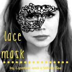 DIY Lace Masquerade Mask.
