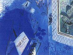 Homage to Mozart - Raoul Dufy 1934