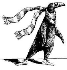 1957 Edward Gorey (American author, illustrator, 1925-2000) ~ The Doubtful Guest