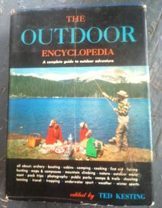 1957 The Outdoor Encyclopedia by NeonSwann on Etsy