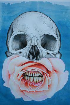 proctor blue skull
