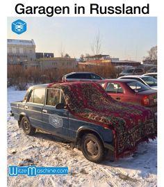 Garagen in Russland