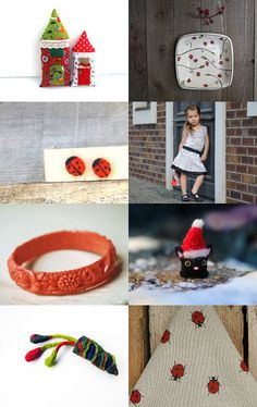 What do Ladybugs do, in winter? by Mammabook on Etsy--Pinned with TreasuryPin.com