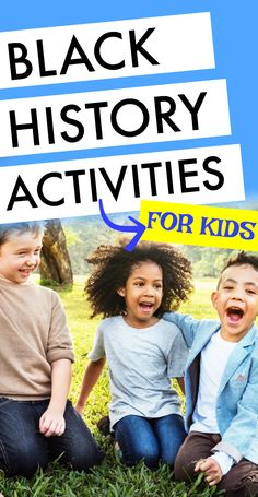 Black history activity, lesson plans and resources to discuss black history leaders, black history facts, racism lessons for kids and racism lessons activities (lesson plans). Great for Black History Month or learning throughout the year. #blackhistory #lessons #kidsactivities #school #homeschool