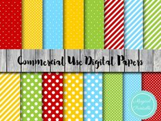 DP132 mickey mouse and friends digital papers, mickey mouse clubhouse digital papers