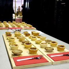 The competition was tight yesterday featuring some of the most innovative and tasty tart to date. Thank you to all of the bakeries that came out for the day - your creative and traditional culinary genius was appreciated by many. #buttertarttour #foodkn #tasteoff #kawarthasnorthumberland