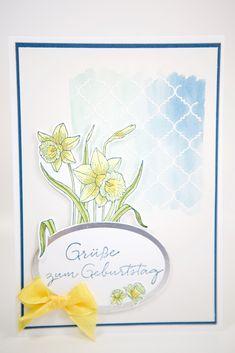 Frühlings-Geburtstagskarte mit Stampin' Up!
