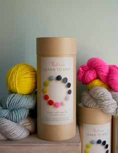 New! Purl Soho's Learn To Knit Kit! - Knitting Crochet Sewing Crafts Patterns and Ideas! - the purl bee