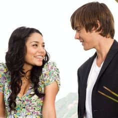Vanessa Hudgens made her film debut in the critically acclaimed movie Thirteen, and went on to star in Disney's High School Musical. Zac Efron Vanessa Hudgens, Zac Efron Movies, Hight School Musical, Troy And Gabriella, Zac Efron And Vanessa, Disney High Schools, Eric Christian Olsen, Emperors New Groove, Disney Channel Stars
