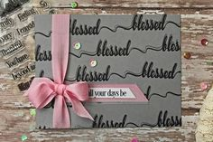 Shadow-stamped card.Love the simplicity for any occasion. Link to tutorial. Splitcoaststampers - Shadow Stamping
