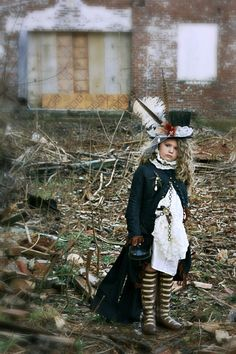 Steam Punk Coat Childs Costume by silverboutiquecrafts on Etsy, $285.00