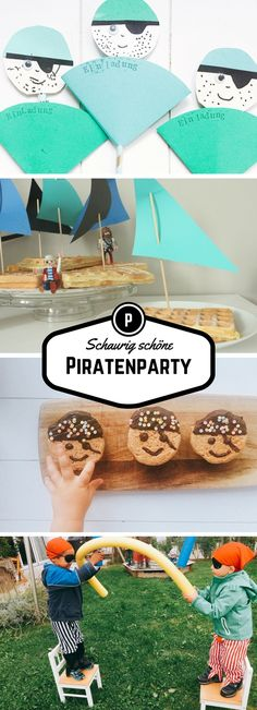 Kinderparty Pirate party, pirate birthday, pirate kids birthday, party for boys, kids birthday invit Surprise Party Invitations, Birthday Invitations Kids, 40th Birthday Parties, Pirate Birthday, Birthday Kids, Birthday Cake, Pirate Kids, Diy For Kids, Party Games