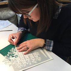 Papercut Workshop 14th Jan 2017 - Kyleighs Papercuts