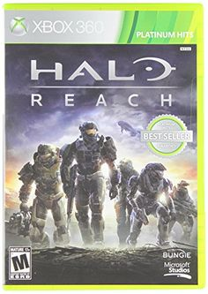 """Top 50 Xbox 360 Games """"Halo: Reach,"""" developed exclusively for Xbox is theblockbuster prequel to the landmark """"Halo"""" video game franchise and is the biggest game yet in the Halo series.""""Halo"""" is one of the biggest video game series in history, Xbox 360 Video Games, Latest Video Games, Xbox Games, Pc Games, Playstation Games, Card Games, Studios, Halo Wallpaper, Halo Reach Xbox 360"""