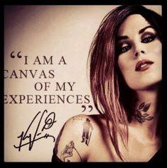 She's always such an inspiration! #katvond #tattooartist #tattoos
