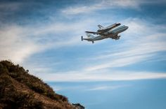 Space Shuttle Endeavour by Benjamin Warde — at Marin Headlands. ( Sep 21, 2012 )