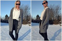 Black Swan - Black Swan Aida cardigan - Comfy and Casual Chic. Perfect for Winter Outfit.