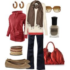 fall weekend, created by htotheb.polyvore.com