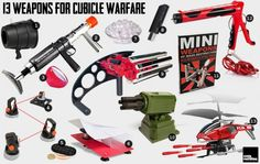 Weapons for Cubical Warfare
