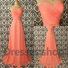 Peach Dress #womendress #alice257891 #PeachDress #Peach #Dresses #nicefashion   www.2dayslook.com