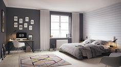 Als wij toch een slaapkamer moeten inrichten, dan het liefst met een Scandinavisch tintje. Lichte frisse slaapkamers zorgen voor een rustige ontspannende sfeer waarin jij lekker kan wegdromen!