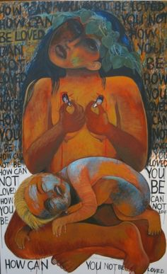 "Robyn Kahukiwa: ""Hae Hae"" Maori Art, My Roots, Visual Arts, Artist Painting, Contemporary Art, Inspire, Culture, Artists, Models"